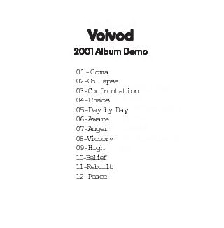 Voivod - 2001 Album Demo