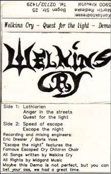Welkin's Cry - Quest for the Light