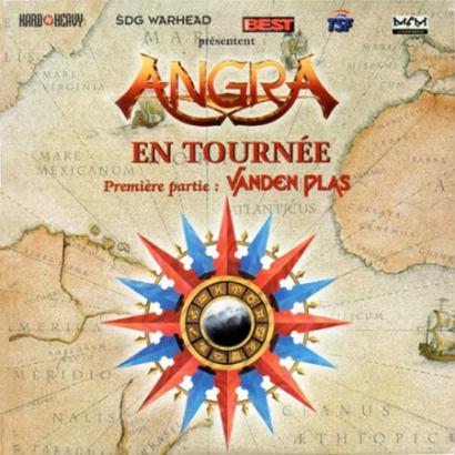 Angra / Vanden Plas - En Tournée