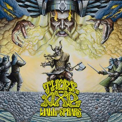 Cover of Thorr-Axe - Wall of Spears