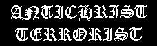 Antichrist Terrorist - Logo