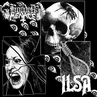 Hooded Menace / Ilsa - Hooded Menace / Ilsa