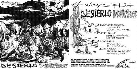 Beerzerker / Outcast / Mefisto / Sunkross - Desierto podrido