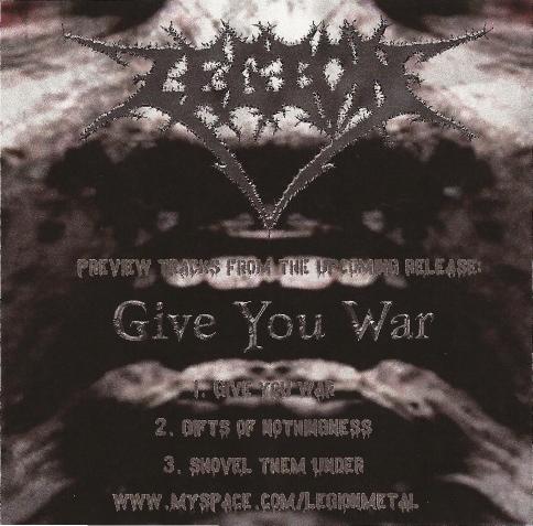 Legion - Give You War
