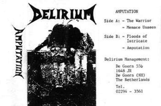 Delirium - Amputation