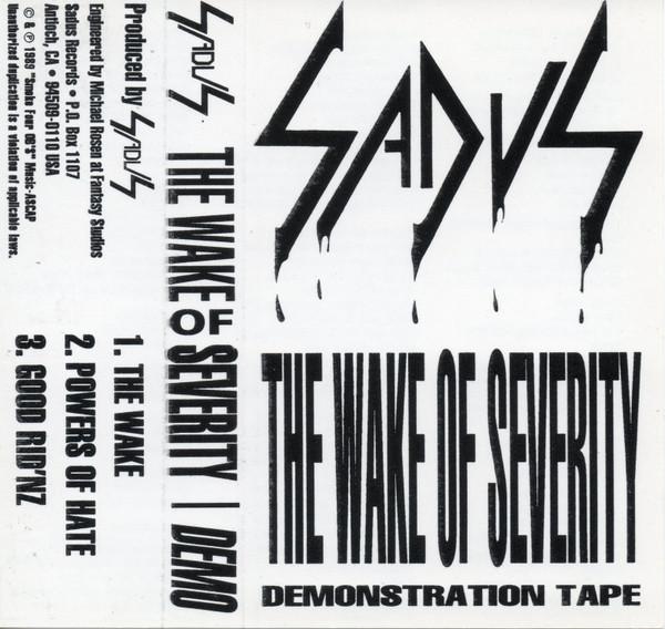 Sadus - The Wake of Severity
