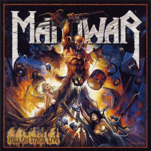 Manowar - Hell on Stage