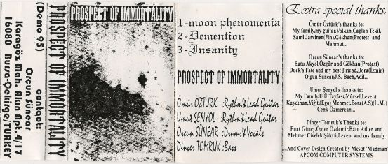 Prospect of Immortality - Demo 95
