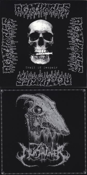 Nunslaughter / Agathocles - Untitled / Trail of Despair