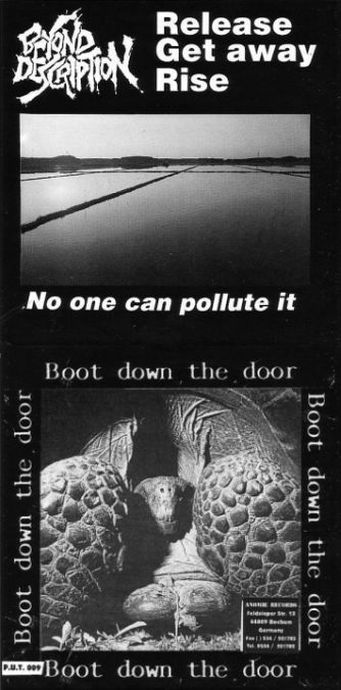 Beyond Description - No One Can Pollute It / Boot Down the Door