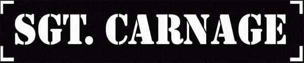 Sgt. Carnage - Logo