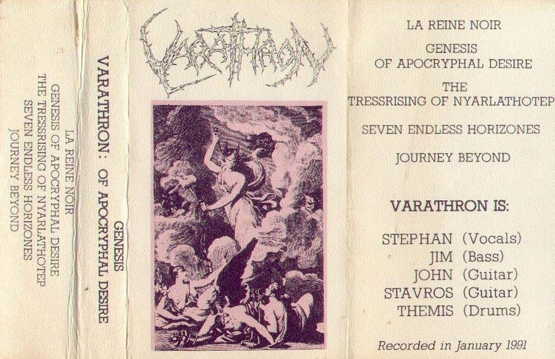 Varathron - Genesis of Apocryphal Desire
