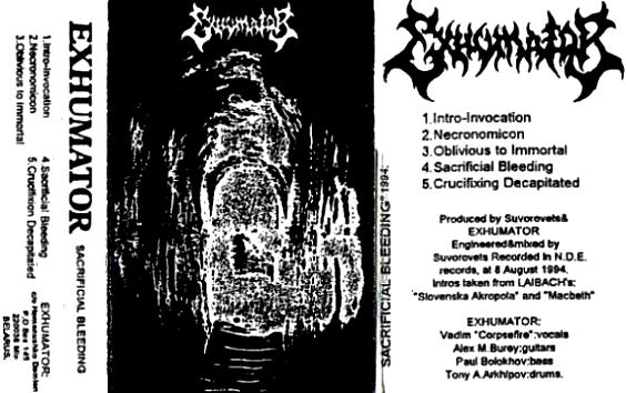 Exhumator - Sacrificial Bleeding