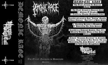 Demonic Rage - The Occult Formula to Desecrate Souls