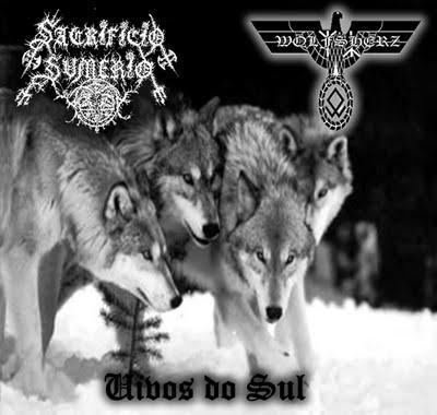 Sacrifício Sumério / Wolfsherz - Uivos do Sul