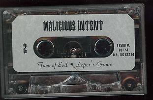 Malicious Intent - Demo '95