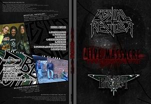 Blood Pollution / Bestial Reviler - Live Massacre