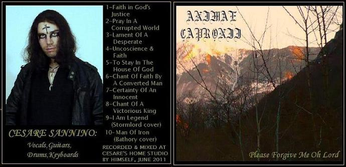 Animae Capronii - Please Forgive Me Oh Lord
