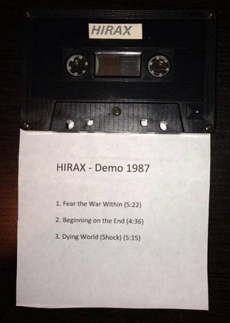 Hirax - Blasted in Bangkok Demo Tape