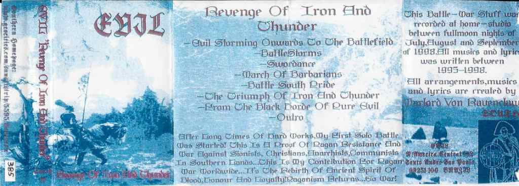 Revenge Of Iron And Thunder cover (Click to see larger picture)