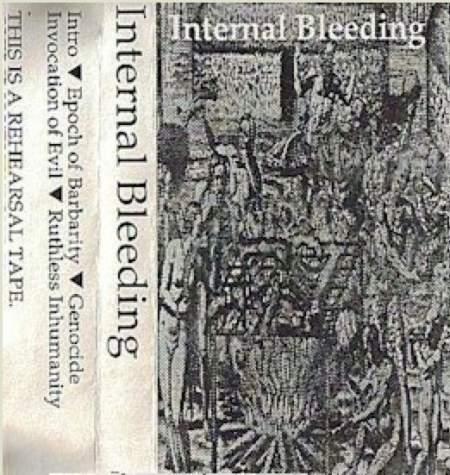 Internal Bleeding - Rehearsal Demo 1991