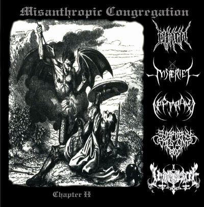 Nosferiel / Neftaraka / Omen / Immolate / Symphony Jimbalang - Misanthropic Congregation Chapter II