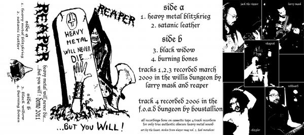 Reaper - Heavy Metal Will Never Die...but You Will!