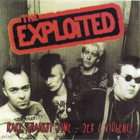The Exploited - Race Against Time / Sex & Violence