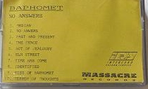 Baphomet - No Answers