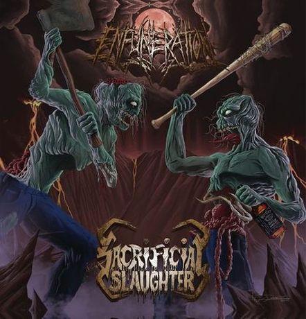 Sacrificial Slaughter / Enfuneration - American Death Thrash