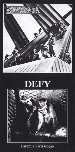 Defy - Untitled / Parem a Vivissecção