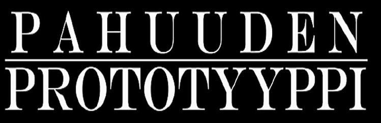 Pahuuden Prototyyppi - Logo