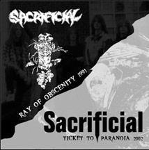 Sacrificial - Ticket to Paranoia