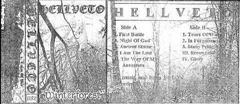 Hellveto - Winterforest