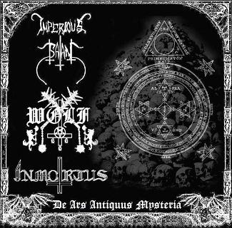 Wolf / Imperious Satan / Inmortus - De Ars Antiquus Mysteria