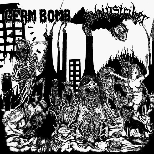 Whipstriker / Germ Bomb - Germ Bomb / Whipstriker