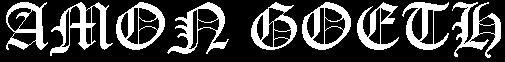Amon Goeth - Logo