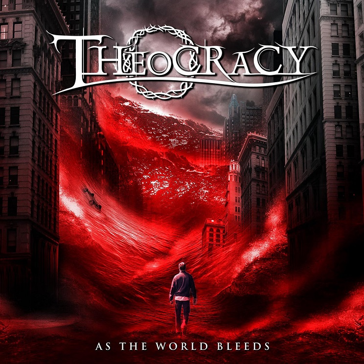 Cover of Theocracy - As The World Bleeds