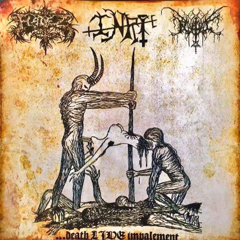Nahual / Hadez / INRI - ...Death Live Impalement