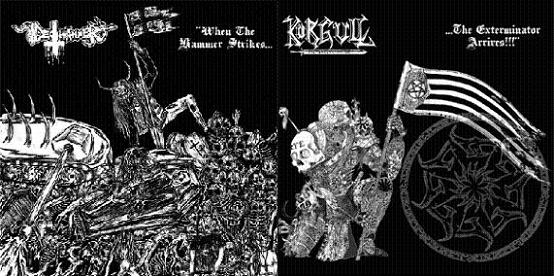 Deathhammer / Körgull the Exterminator - When the Hammer Strikes......The Exterminator Arrives!!!
