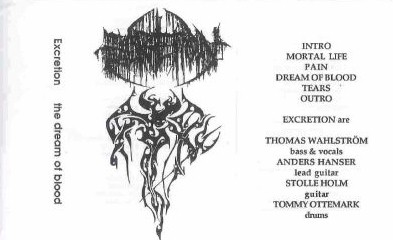 Excretion - The Dream of Blood