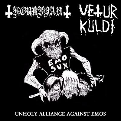 Veturkuldi / Korriban - Unholy Alliance Against Emos