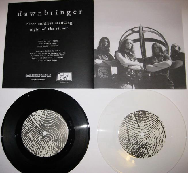 Dawnbringer - Three Soldiers Standing / Night of the Sinner