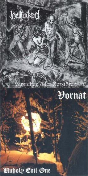 Hellfucked / Vornat - Hellfucked / Vornat