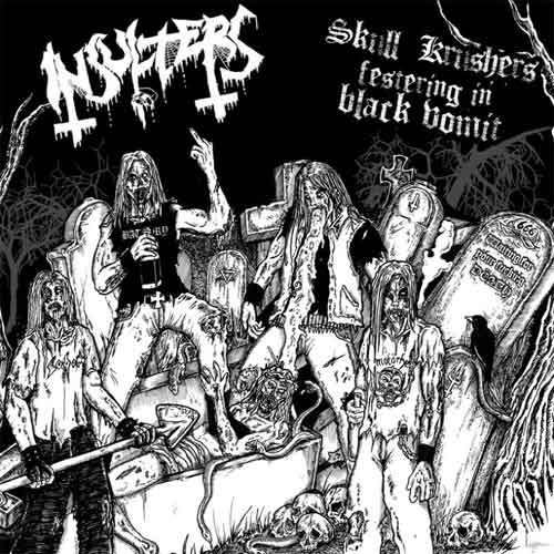 Insulters - Skull Krushers Festering in Black Vomit