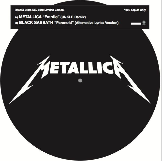Black Sabbath / Metallica - Frantic / Paranoid