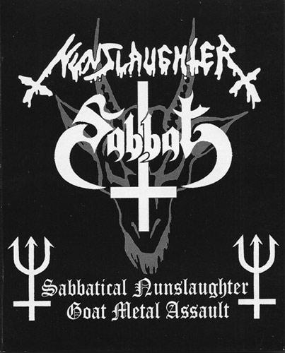 Sabbat / Nunslaughter - Sabbatical Nunslaughter Goat Metal Assault