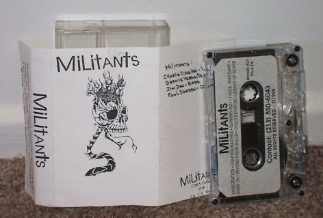 The Militants - Demo 95'
