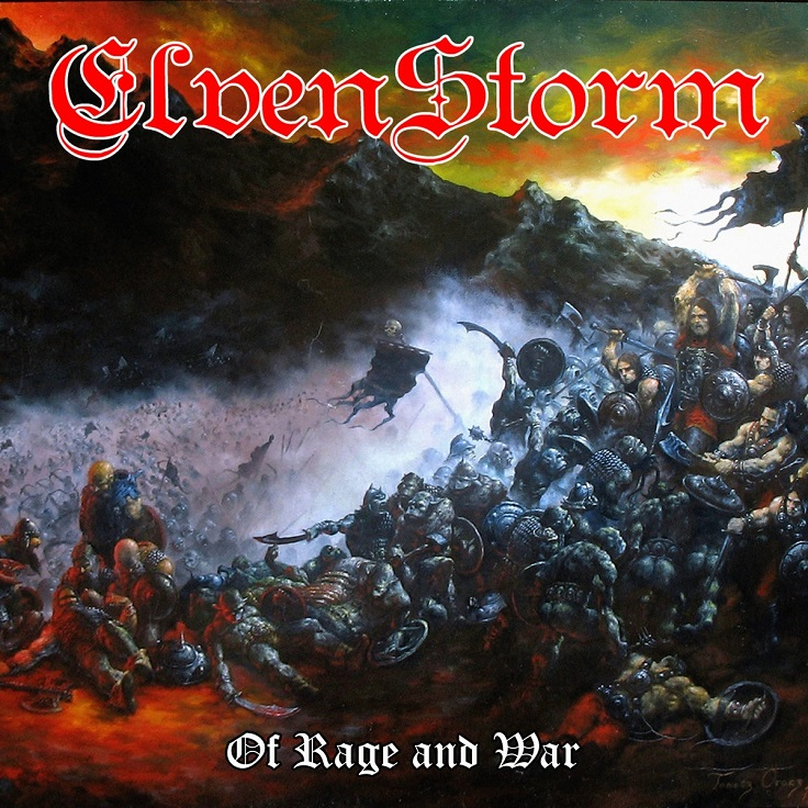 Elvenstorm - Of Rage and War