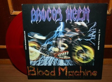 Brocas Helm - Blood Machine / Skullfucker